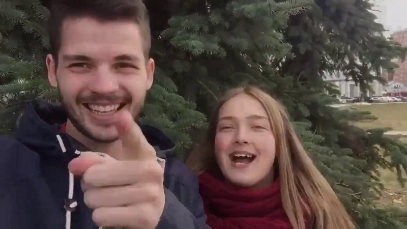 Приветствие командоров 1 смены 2 отряда Гриши Токарева и Маши Сыромуковой