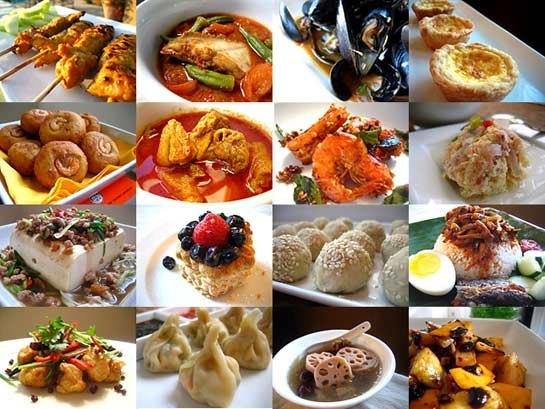 Много разных рецептов с фото