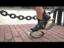Корреспондент КП о тренировках на прыгающих ботинках джамперах