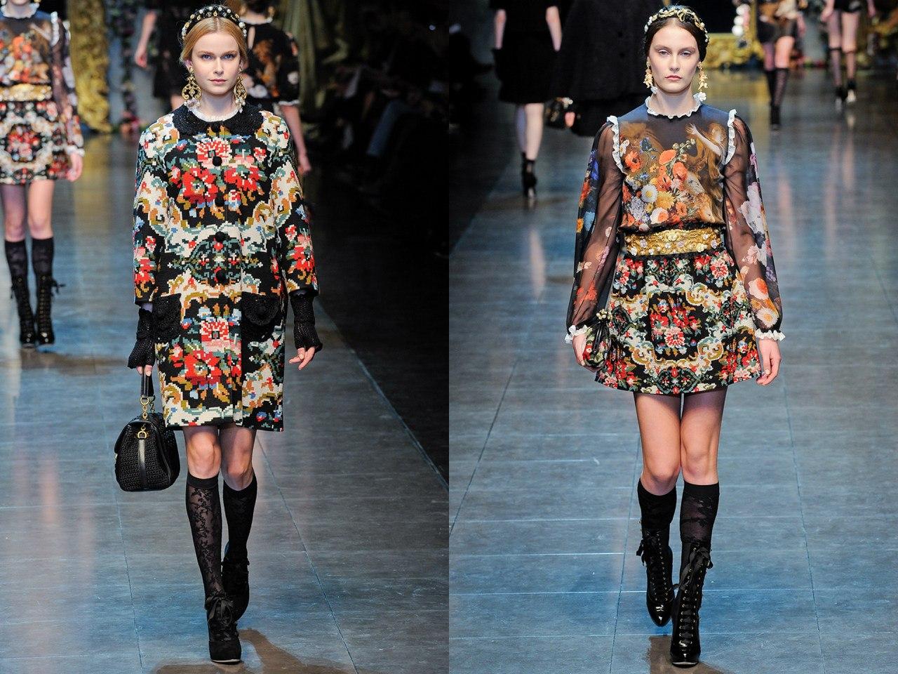Dolce & Gabbana, осень-зима 2012/13