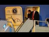Donald Trump La Impresionante Llegada del Presidente de Estados Unidos a la Argentina por el G20