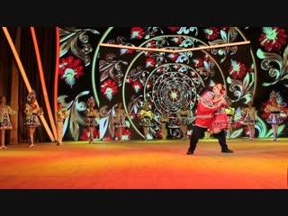 Илья Шутов и Мария Пелевина на Гала-концерте VI Межрегионального фестиваля детского творчества