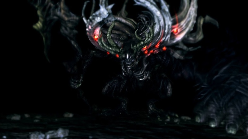 Dark Souls Remastered:Manus, Father of the Abyss boss fight