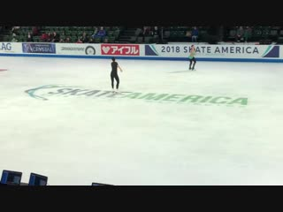 Marin Honda 2018 Skate America FS practice 10.19.18