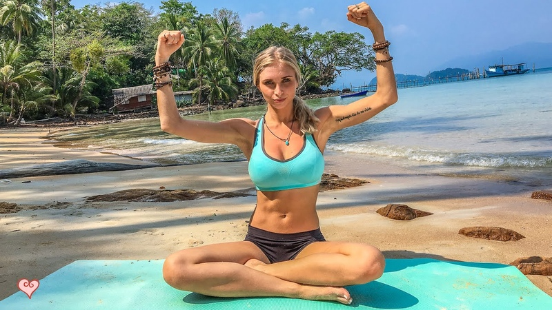 Yoga Workout ♥ Better Than The Gym | Abs Core
