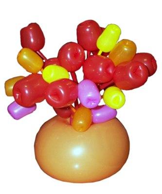 №328. Цветы из шаров «Тюльпаны»