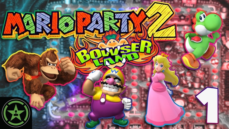 Bowser's Parade - Mario Party 2 with ProZD (1)   Let's Play