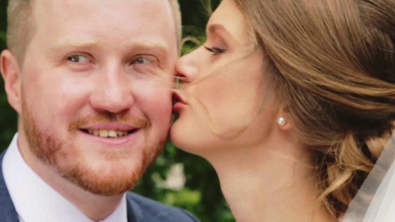 Аня и Лёша, свадьба в формате фуршет