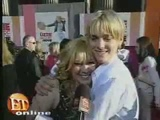 Hilary Duff And Aaron Carter On A Date At The Lizzie Mcguire Movie Premiere - YouTube