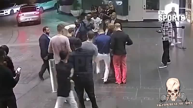 Новое видео с Конором нападение на фаната