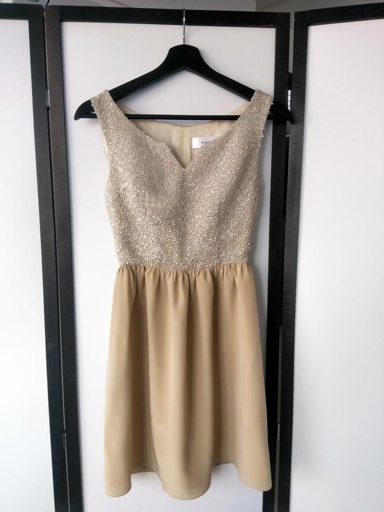 Платье для нашей миниатюрной клиенткиТвид и шифон