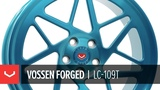 Vossen Forged LC-109T Wheel Deco Teal