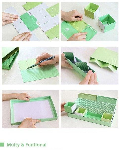 Как сделать косметичку из бумаги