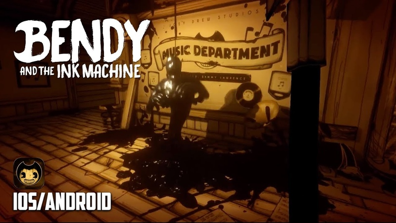 BENDY AND INK MACHINE - iOS / Android - FIRST GAMEPLAY (HORROR MOBILE GAME)