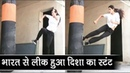 Disha Patani Power Packed Leaked Stunt From Salman Khans Bharat Video Viral
