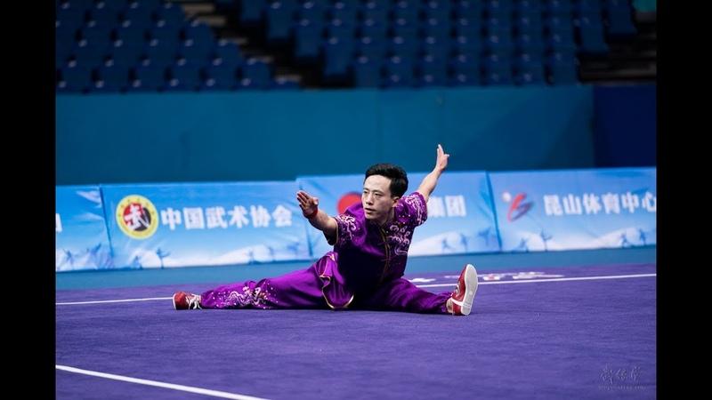 Mens Changquan 男子长拳 第2名 山东队 孙培原 9.69分 shan dong sun pei yuan