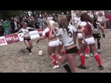 Hottest Sexiest Soccer Woman match 2013 london