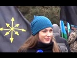 Екатерина Губарева в Ростове - Паша, мы с тобой! 9.03.14