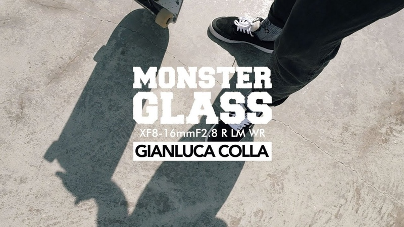 Monster Glass XF8-16mmF2.8 R LM WR with Gianluca Colla / FUJIFILM