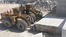 Huge Wheel Loaders Working In the Biggest Marble Quarry In Europe - Birros Marbles