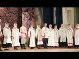 Великопостный концерт ансамбля Веретенце