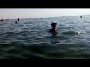 Тимофей плывёт