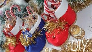 Как сделать Новогодний сапожок / DIY Christmas Boots
