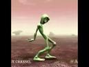 Весёлый Танец Зелёного Человечка! ОРИГИНАЛ