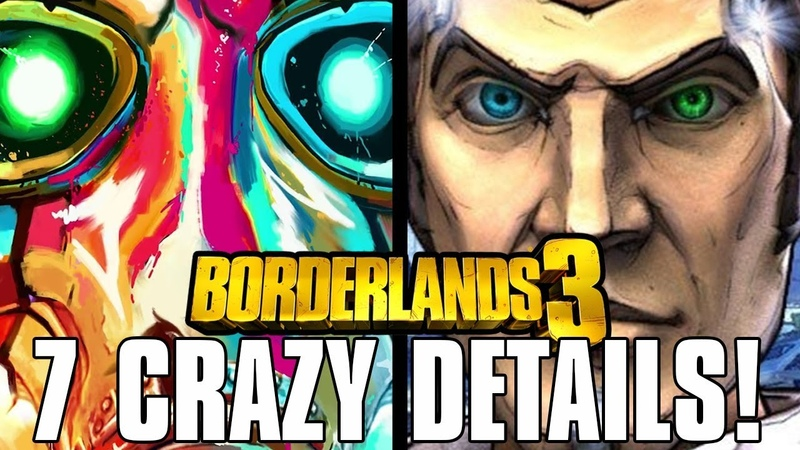 Borderlands 3 7 Crazy Details You Missed In The Trailers Teases