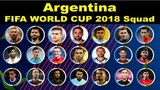 Argentina 23 Man Squad Official World Cup 2018 Russia FIFA World Cup 2018 Lifestyle Today