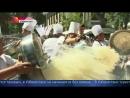 На фестивале в Ташкенте приготовили гигантский казан плова на 8 тн