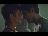 Magnus and Alec train at the Institute - Shadowhunters 3x12