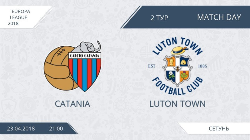 AFL18. Europe League. Group E. Day 2. Catania - Luton Town