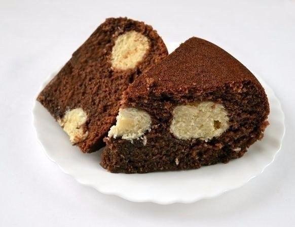 Шоколадный манник в мультиварке Ингредиенты: 1 ст. манной крупы, 1,5