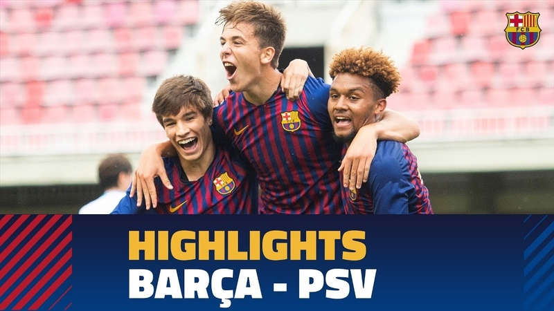 [HIGHLIGHTS] YOUTH LEAGUE FC Barcelona - PSV Eindhoven (2-1)