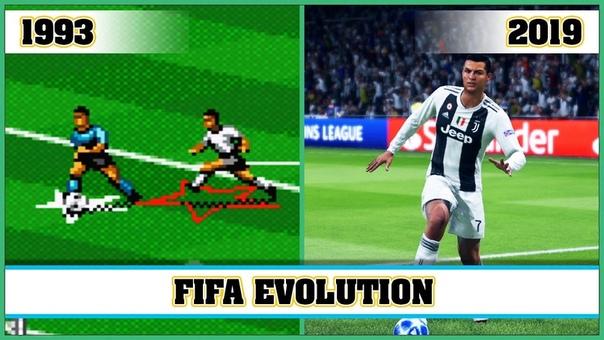 FIFA: история серии игр