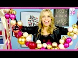 How to Decorate your Room for the Holidays: Throws, Bows, and Ornaments! - 2 DIY For Episode 45