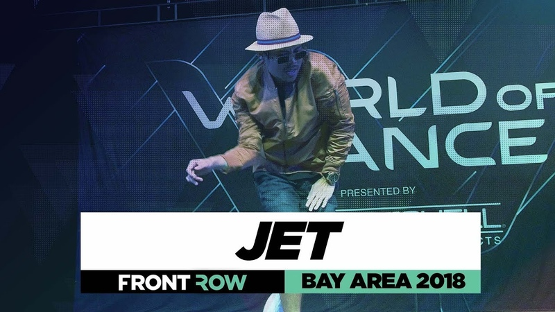 Justin Jet Valles | FrontRow | World of Dance Bay Area 2018 | WODBAY18 | Danceproject.info