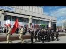 торжественное шествие 9 мая Заволжский район Ульяновска
