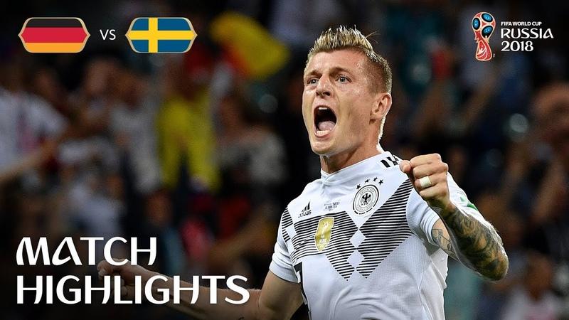 Германия - Швеция | обзор матча