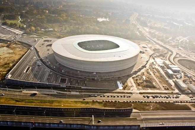 Городской стадион, Вроцлав