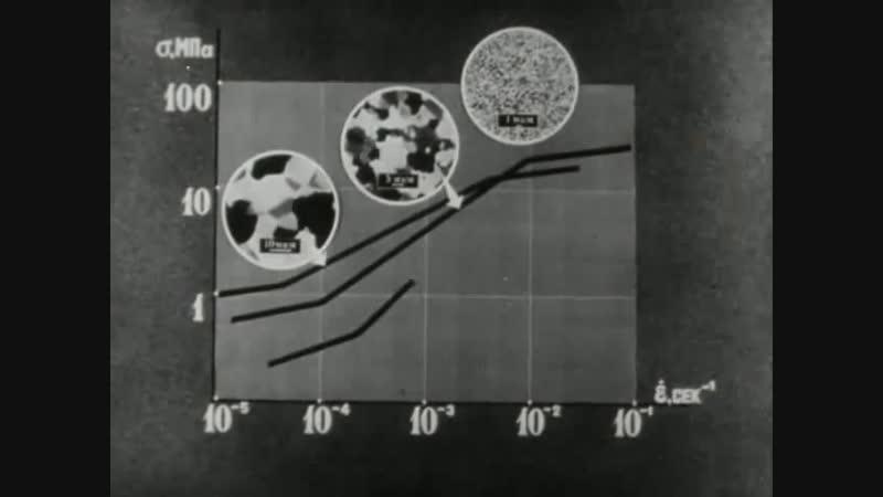 Сверхпластичность сплавов с ультрамелким зерном Киевнаучфильм 1980