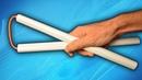 Как сделать нунчаки из бумаги своими руками
