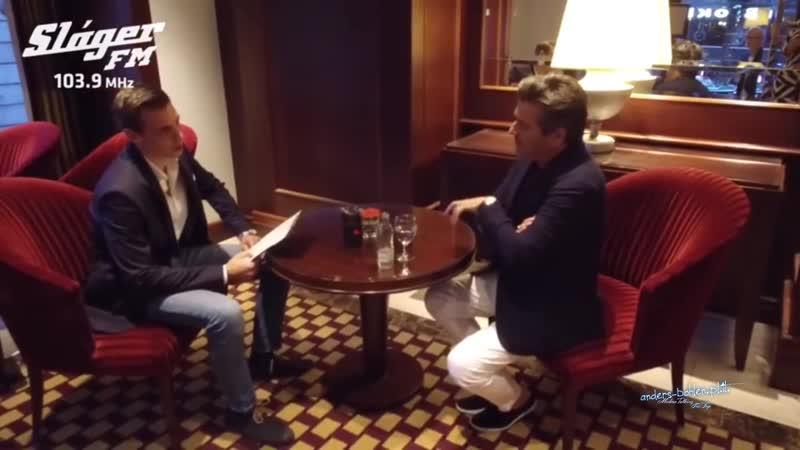Thomas Anders rozmowa dla Slàger FM 3.10.2018