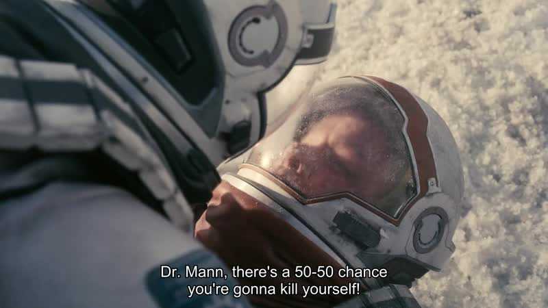 Dr. Mann, there's a 50-50 chance you're gonna kill yourself!