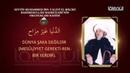 Seyyîd Muhammed İbn-i Alevî el Mâliki (r.a)'nin Okuduğu Kaside