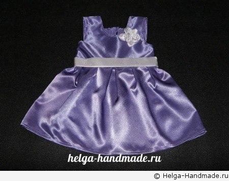 Шьем платье для девочки (8 фото) - картинка