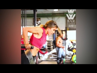 Muscle Barbie Cassandra Martin Vs Explosive Girl Heba Ali