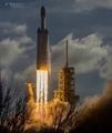 Falcon Heavy Lift Off