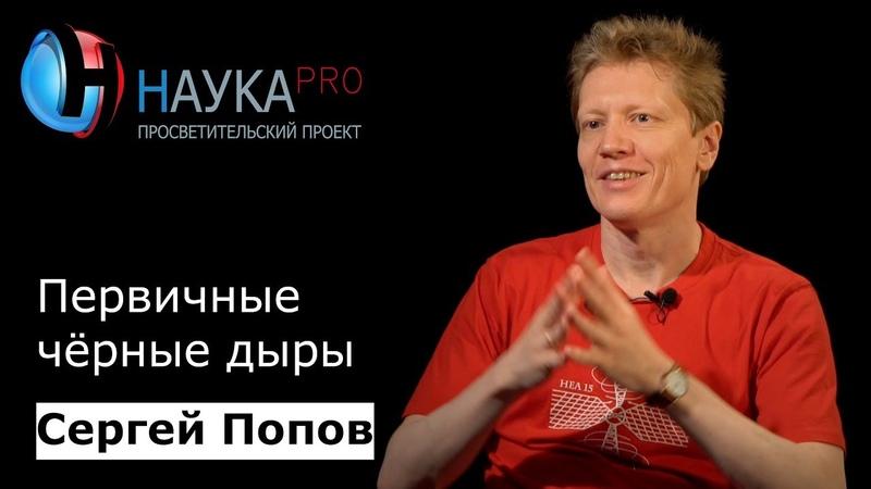 Сергей Попов Первичные чёрные дыры